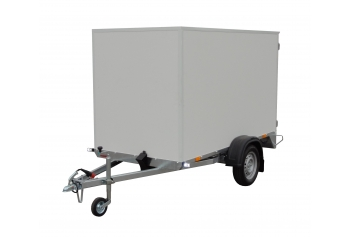 Plywood box trailers