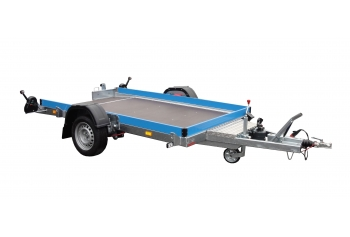 Trailers of the HUSKY line – tiltable on the axles